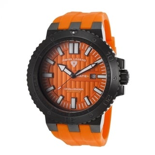 Swiss Legend Men's SL-10126-BB-01-OA Challenger Orange Watch