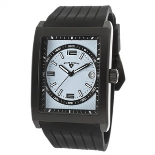 Swiss Legend SL-40012-BB-012 Limousine Blue Dial Black Silicone Watch