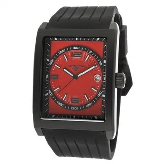 Swiss Legend Men's SL-40012-BB-05 Limousine Red Dial Silicone Watch