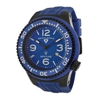 Swiss Legend Men's SL-21818S-C-K Neptune Blue Watch