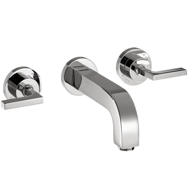 Hansgrohe Axor Citterio Chrome Wall-mounted Faucet with Lever Handles