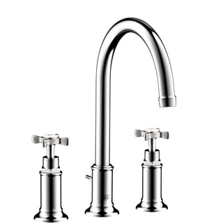 Hansgrohe Axor Montreux Widespread Chrome Faucet with Cross Handle Chrome