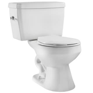 Niagara EcoLogic White 1.6 GPF Round Bowl and Tank Toilet Combo