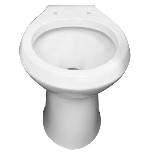 Niagara White 1.6 Gpf Elongated Toilet Bowl
