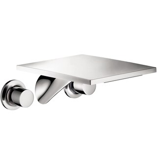 Hansgrohe Axor Massaud Wall Mounted Long Widespread Bathroom Faucet