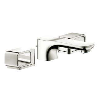 Hansgrohe Axor Urquiola Polished Nickel Widespread Bathroom Faucet