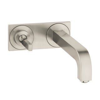 Hansgrohe Axor Citterio Brushed Nickel Wall-mounted Single Handle Faucet