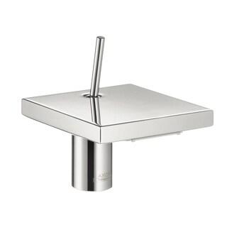 Hansgrohe Axor Starck X Chrome 4-inch Tall Flat Bathroom Faucet