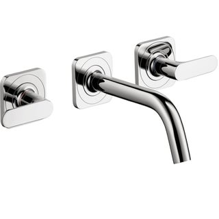Hansgrohe Axor Citterio M Widespread Wall-mounted Chrome Faucet