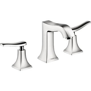 Hansgrohe Metris C Widespread Lever Handle Chrome Faucet