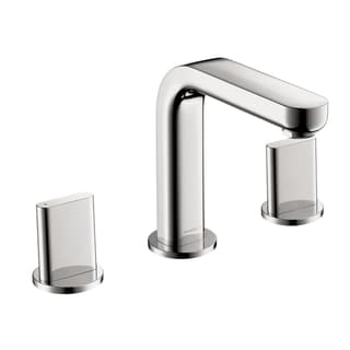 Hansgrohe Metris S Widespread Full Chrome Faucet