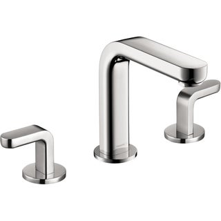 Hansgrohe Metris S Chrome Widespread Faucet with Lever Handles