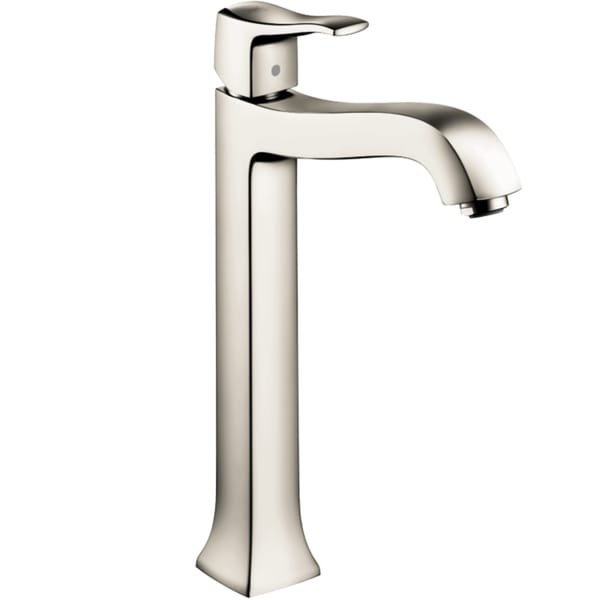 Hansgrohe Metris C Tall Polished Nickel Single Handle Faucet