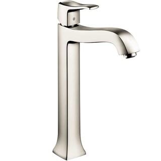 Hansgrohe Metris C Tall Polished Nickel Single Handle Faucet