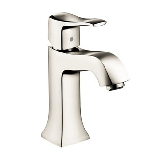 Hansgrohe Metris C Single Hole Polished Nickel Faucet