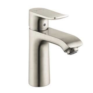 Hansgrohe Metris E Single Hole Brushed Nickel Faucet