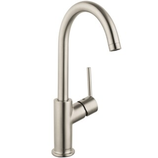 Hansgrohe Talis S Single Hole Brushed Nickel Faucet