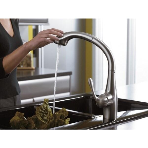 hansgrohe allegro e chrome kitchen faucet 16551005