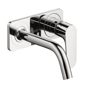Hansgrohe Axor Citterio M Wall-mounted Single Handle Chrome faucet with Baseplate