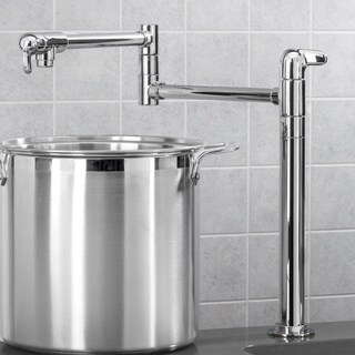 Hansgrohe Allegro E Potfiller Stand Steel Optik Faucet