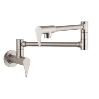 Hansgrohe Axor Citterio Wall Steel Optik Pot-filler faucet