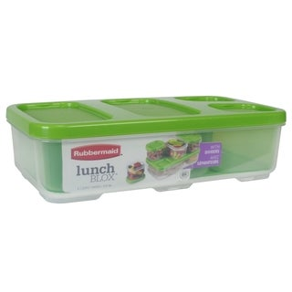 Rubbermaid Lunch Blox Entr�e Container with Dividers