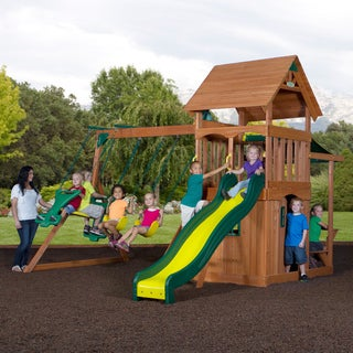 Backyard Discovery Mason Wooden Swing Set