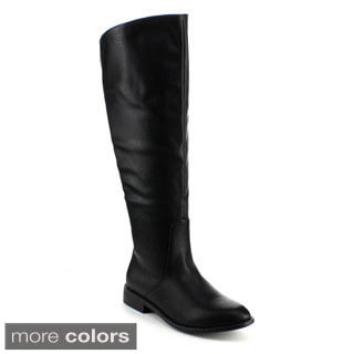 Refresh Women's 'Journey-01' Over-the-knee Riding Boots