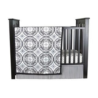 TrendLab Medallions 3-piece Crib Bedding Set