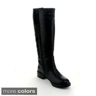 Refresh Women's 'Pace-02' Knee-high Riding Boots