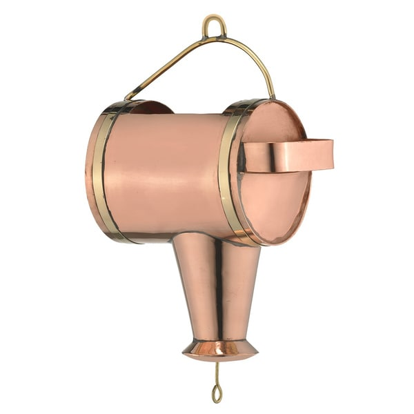 Good Directions Polished Copper Watering Can Leader