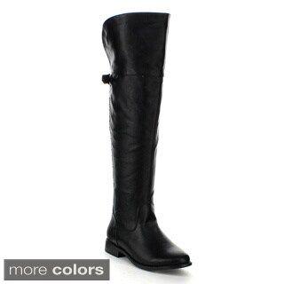 Refresh Women's 'Mercury-02' Over-the-Knee Riding Boots