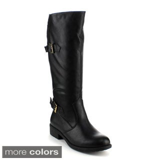 Refresh Women's 'Dason-02' Knee-high Riding Boots