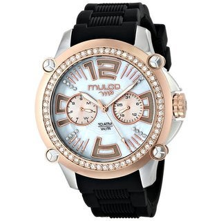 Mulco Women's 'M10' Stainless Steel Chronograph Watch