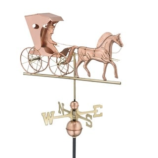 Good Directions Country Doctor Polished Copper Weathervane
