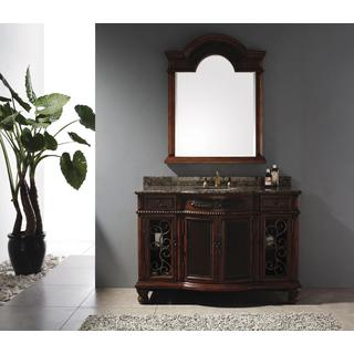 James Martin Furniture Classico Brown Cherry/ Granite Vanity Set