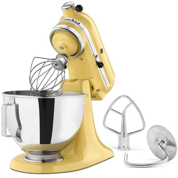 KitchenAid KSM85PBMY Majestic Yellow 4.5-quart Tilt-head Stand Mixer