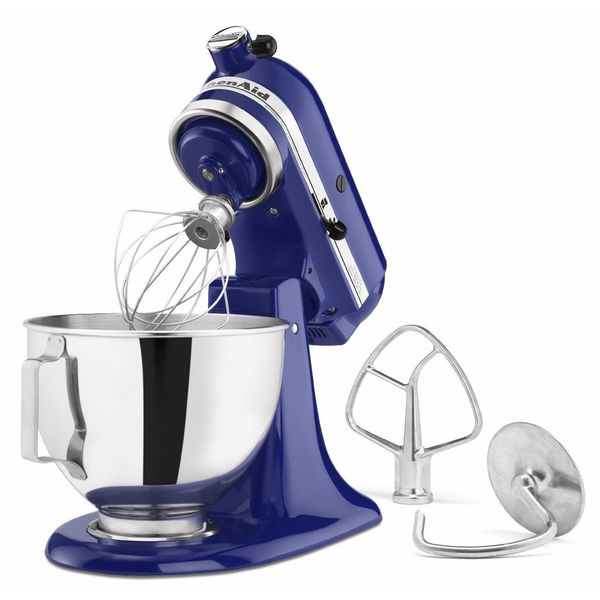 KitchenAid KSM85PBBU Cobalt Blue 4.5-quart Tilt-head Stand Mixer