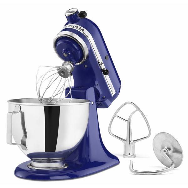 KitchenAid KSM85PBBU Cobalt Blue 4.5-quart Tilt-head Stand Mixer