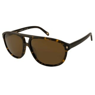 Fossil Men's Bruno Polarized/ Aviator Sunglasses