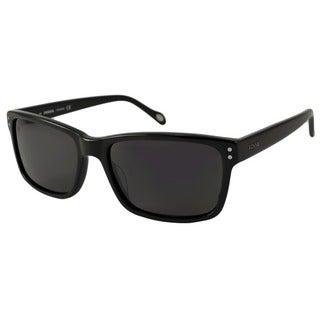 Fossil Men's Russell Polarized/ Rectangular Sunglasses