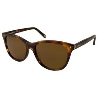 Fossil Women's FOS 1001 P Polarized/ Rectangular Sunglasses