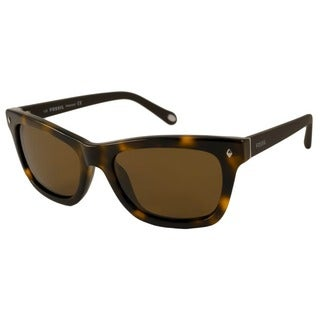 Fossil Women's FOS 2007 P Polarized/ Rectangular Sunglasses