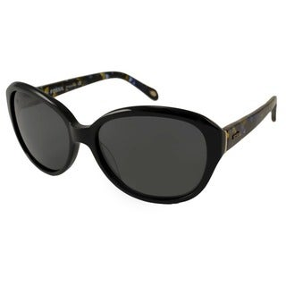 Fossil Women's Misty Polarized/ Rectangular Sunglasses