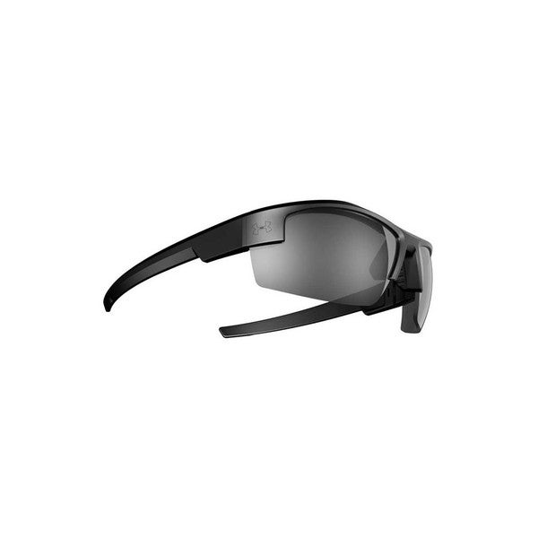 Under Armour Reliance Satin Black Sunglasses