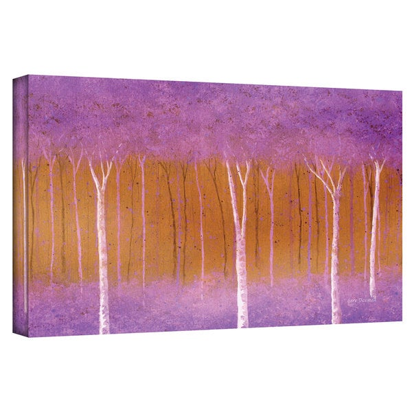 Herb Dickinson 'Cotton Candy Forest' Gallery-wrapped Canvas