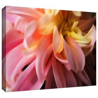 Dean Uhlinger 'Dahlia Study' Gallery-wrapped Canvas