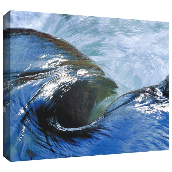 Dean Uhlinger 'Kern River Flow' Gallery-wrapped Canvas