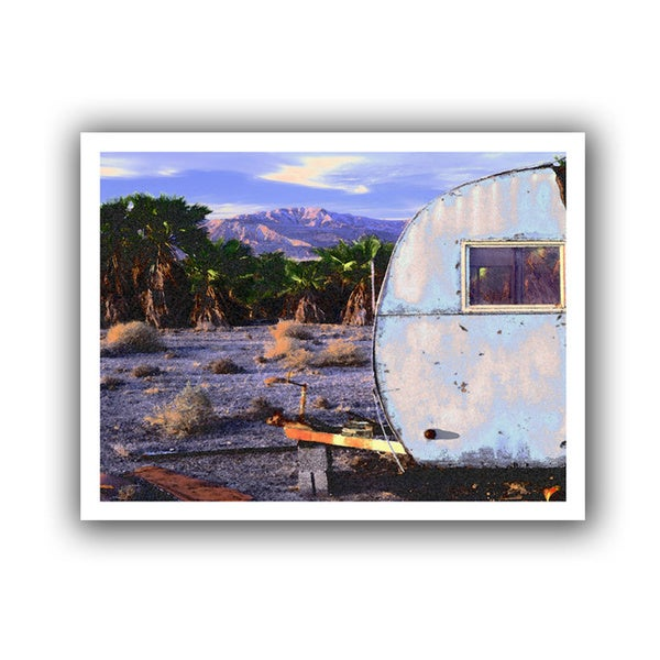 Dean Uhlinger 'The Last Resort' Unwrapped Canvas