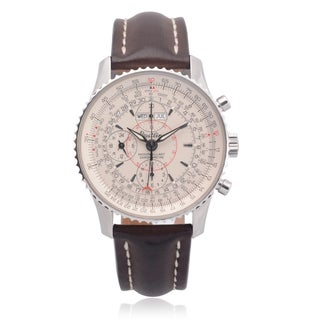 Breitling Men's Montbrillant Datora Automatic Chronograph Watch